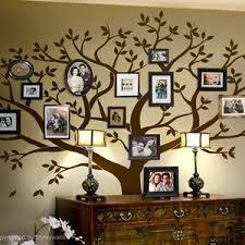 Family Tree Wall Decal Tree Wall Decal Photo Frame Tree Wall Etsy