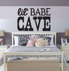 Lil Babe Cave Girl Daughter Wall Decal Door Decal Nursery Etsy