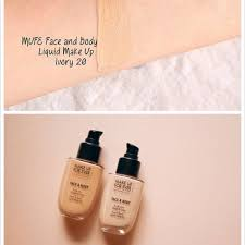forever face and body liquid foundation