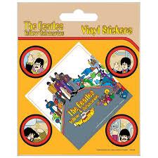 The Beatles Yellow Submarine Vinyl Sticker Shop4megastore Com