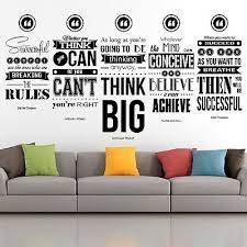 Eric Thomas Quote Set Inspirational Wall Decals Motivational Wall Art Home Decor Ebay