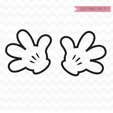 Mickey Mouse Hands SVG Minnie Mouse Hands SVG and PNG instant | Etsy |  Mickey, Minnie mouse bow, Minnie
