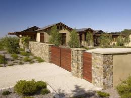 Best Wood And Natural Stone Fence Design 2020 Ideas