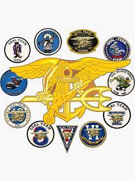 Navy Seal Teams Sticker By Nolamaddog In 2020 Navy Seals Navy Seal Trident Us Navy Seals