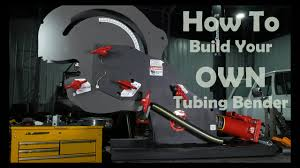 how to build a tubing bender