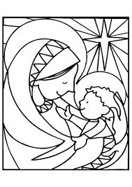 Maria En Jezus Kerstmis Kleurplaten Kleurplaten Kerstmis Kleuren