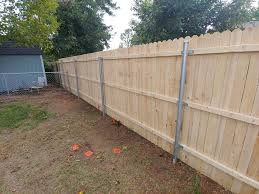 Cj S Fencing Installed 76ft Of White Wood Dog Ear Fence Facebook