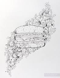 Let S Make A Burger Www Youtube Com Piccandle Doodle