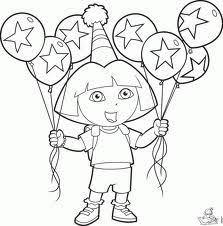Kleurplaat Verjaardag Google Zoeken Kleurplaten Ballonnen
