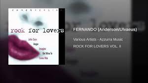 FERNANDO (Anderson/Ulvaeus) - YouTube