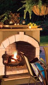 outdoor fireplaces and fire pits at