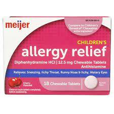 meijer children s allergy relief