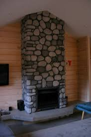 a stone fireplace can really make a