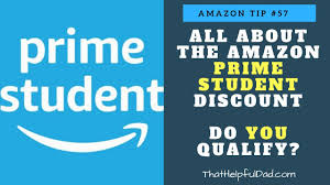 Amazon Prime Student Discount - Do YOU Qualify, how much can you save,  FAQ's, and more. - YouTube