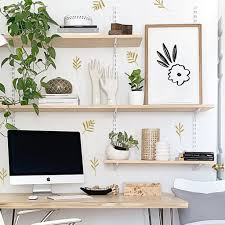 Wall Decal Simple Leaves Wall Sticker Room Decor The Lovely Wall Company