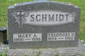 SCHMIDT, MARY A. - Cedar County, Nebraska | MARY A. SCHMIDT - Nebraska  Gravestone Photos