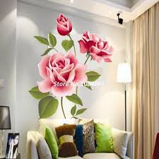 Red Rose Flower Decal Vinyl Wall Pvc Sticker Decoration Living Diy Home Art Wallpaper Room House Sticker Poster 18203 A0001 White Tree Wall Stickers White Vinyl Wall Decals From Jackylucy 8 11 Dhgate Com