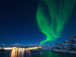 northern lights holiday senja island
