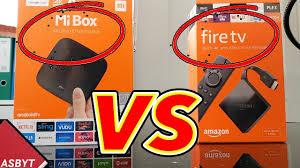 XIAOMI MI BOX vs NEW FIRE TV 3RD GEN! - YouTube