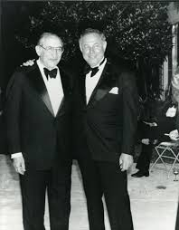 Max M. Fisher with A. Alfred Taubman | Max Fisher