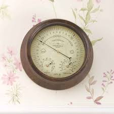 8in westminster barometer thermometer