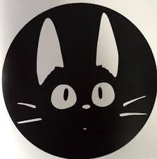 Kiki S Delivery Service Jiji The Cat Inspired Vinyl Etsy