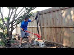 26 The Easy Way To Remove Wooden Fence Posts Set In Concrete No Digging Required Youtube Wood Fence Post Fence Post Concrete Fence Posts
