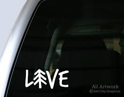 Live Outdoors Decal By Salt City Graphics