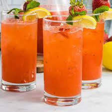 spiked strawberry lemonade tail
