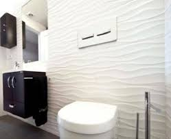 glossy white decor wave 3d effect wavy