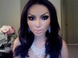 kim kardashian make up transformation