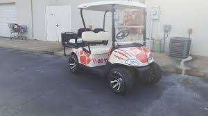 Clemson Golf Cart Graphics Graphics Inc