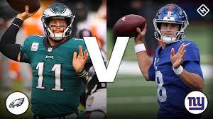 Giants vs. Eagles live score, updates ...