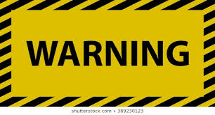 Warning Sign Images, Stock Photos & Vectors | Shutterstock