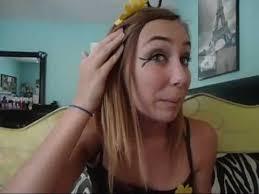 ble bee makeup costume
