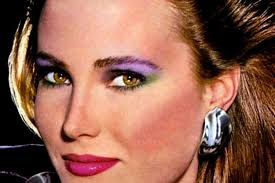 How To Get Awesome Authentic On Trend 80s Eye Makeup Like Multicolored Eyeshadow Click Americana