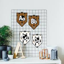 Plant Themed Alphabet Banner Display Double Set By Shop The Primary Collective