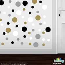 60 Polka Dot Circle Vinyl Window Wall Car Self Adhesive Decal Sticker Bedroom