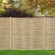 Hartwood 6 X 6 Pressure Treated Horizontal Weave Fence Panel