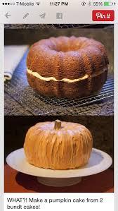 Pin by Addie Beck on Mine   Pumpkin shaped cake, Pumpkin cake, Pumpkin