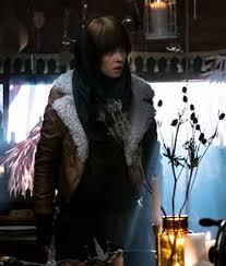 Abigail Foster Leather Jacket | Abigail Moto Jacket - USAJacke