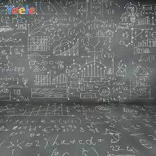 Yeele Blackboard Books Fruit Math Class Back To School Table