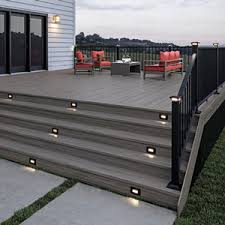 12 Volt Ltd Post Caps Step Lights And Deck Sconce Collection Remodeling Industry News Qualified Remodeler