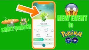 SHINY ODDISH COMING TO POKEMON GO! New Grass-type Event in Pokemon GO -  YouTube