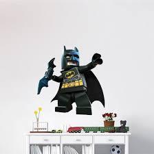 Lego Batman Wall Decal Superhero Wall Design The Dark Knight Wall Mural Dc Comics Stickers Primedecals