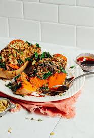 roasted stuffed ernut squash