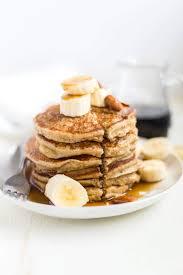 banana oatmeal pancakes gf df blender