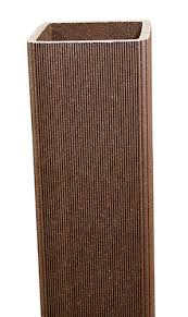 Ultradeck 4 X 4 X 102 Composite Fence Post Sleeve At Menards