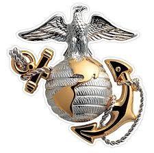 Usmc Emblem Marine Corp Decal Sticker Car Truck Laptop Netbook