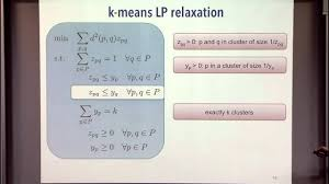 exact recovery via convex relaxations